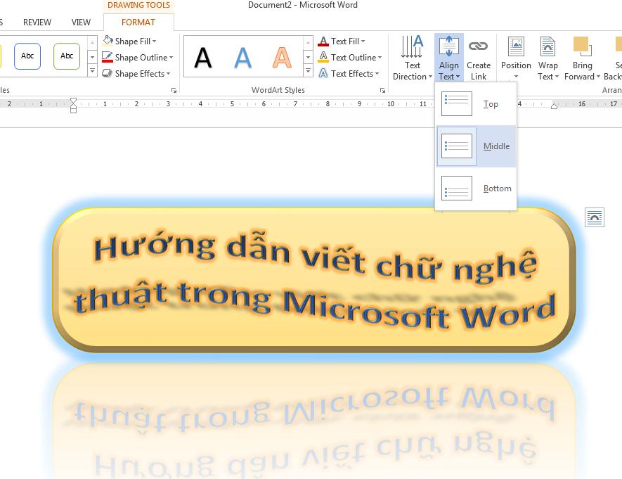 huong-dan-cach-tao-chu-nghe-thuat-trong-word